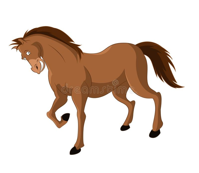 Download Cartoon Horse stock vector. Illustration of graphic, concepts - 33202467