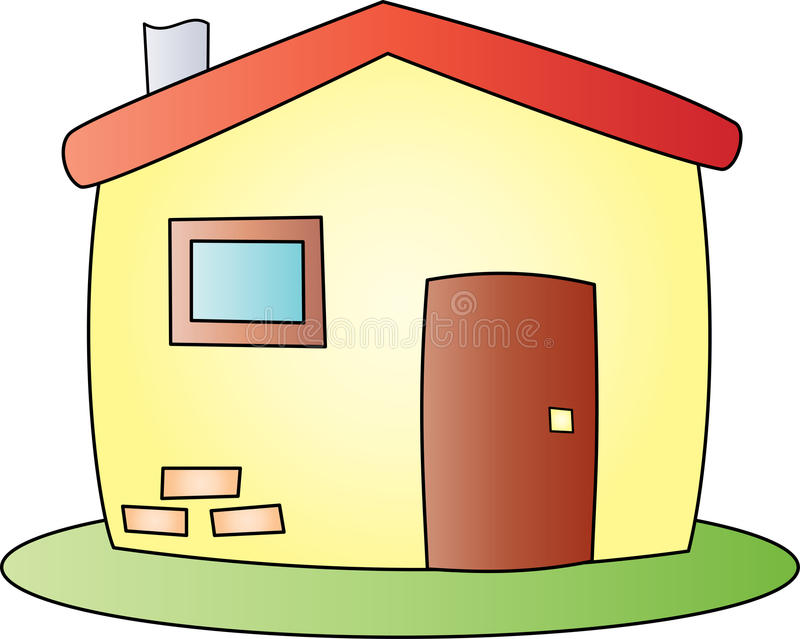 Cartoon house stock vector image 43093877 for Drawing of small house