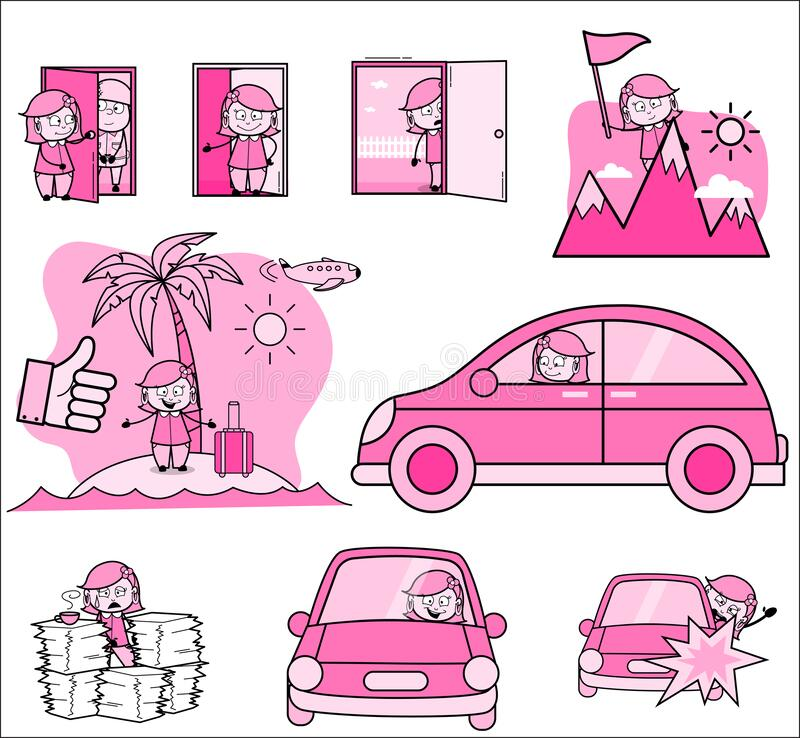 Tired Housewife Stock Illustrations – 186 Tired Housewife ...