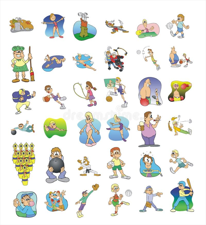 Download Cartoon Icon Collection #02 Stock Vector - Image: 21316165