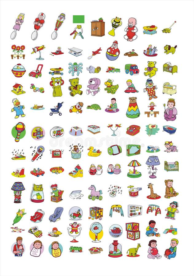 Download Cartoon Icon Collection #07 Stock Illustration - Image: 21325773