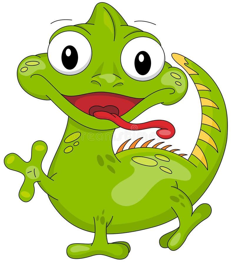 Free Cartoon Iguana Royalty Free Stock Photo - 74900675