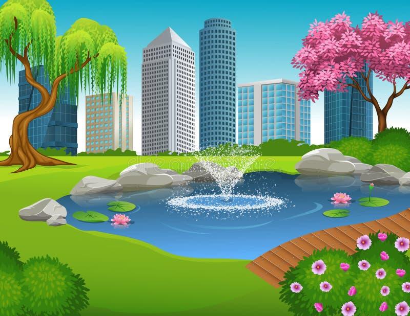 city park cartoon - photo #18
