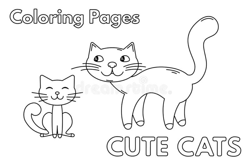 Kitten Coloring Pages Stock Illustrations 353 Kitten Coloring Pages Stock Illustrations Vectors Clipart Dreamstime