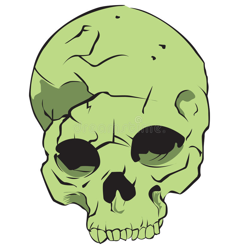 Download Green Skull Royalty Free Stock Images - Image: 29933759