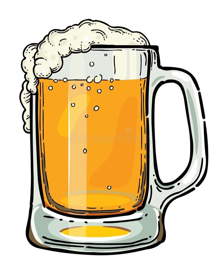 cartoon image of beer in glass stock vector illustration of rh dreamstime com cartoon pictures of beer mugs cartoon beer mug clip art