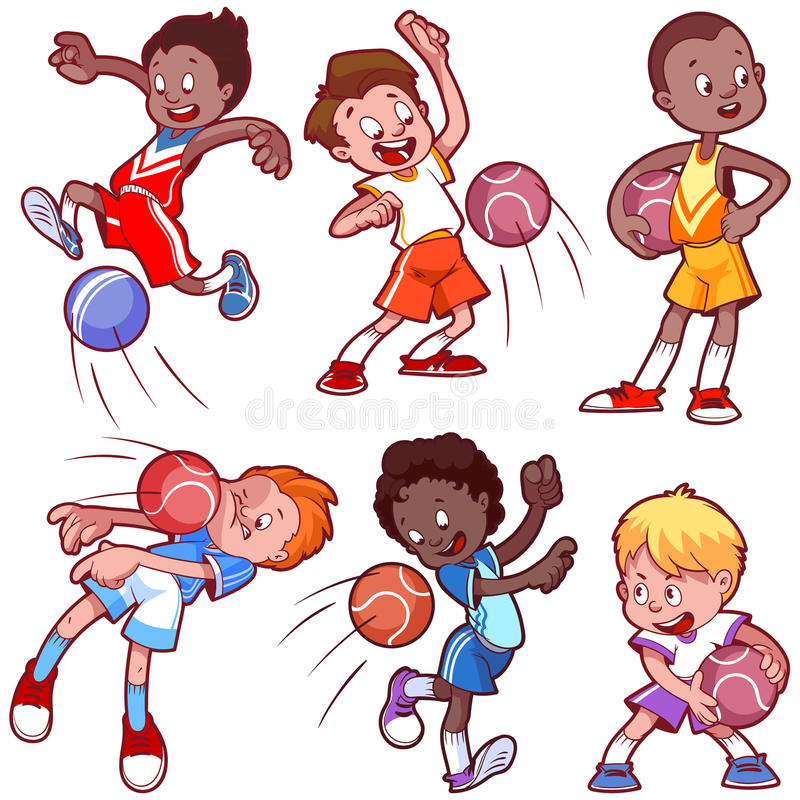 cartoon kids playing dodgeball stock vector illustration of game rh dreamstime com Dodgeball Clip Art Life Is Good Dodgeball Clip Art Life Is Good