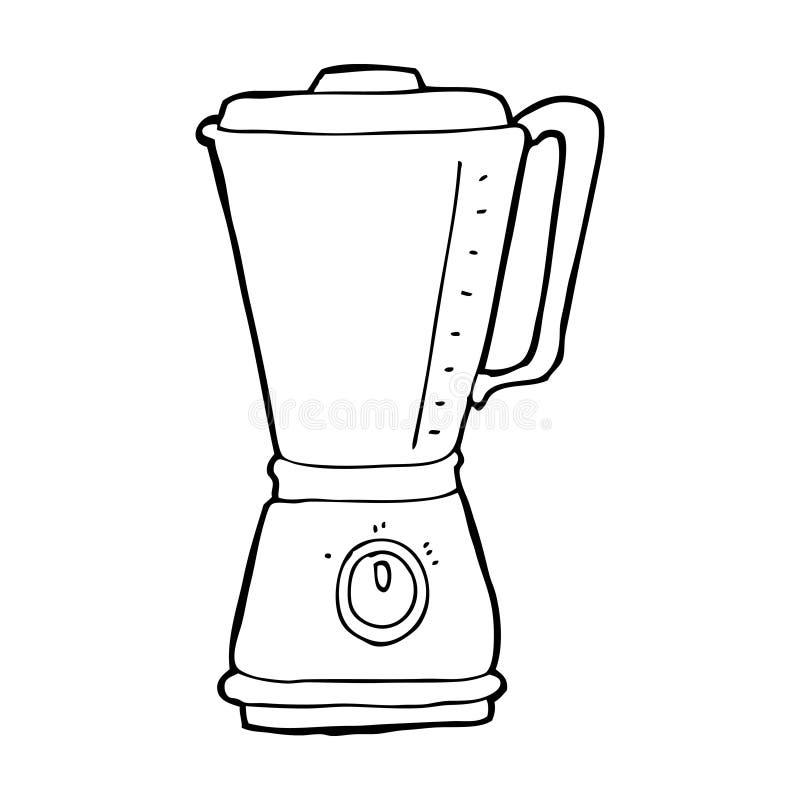 Cartoon Hand Mixer ~ Cartoon kitchen blender stock illustration