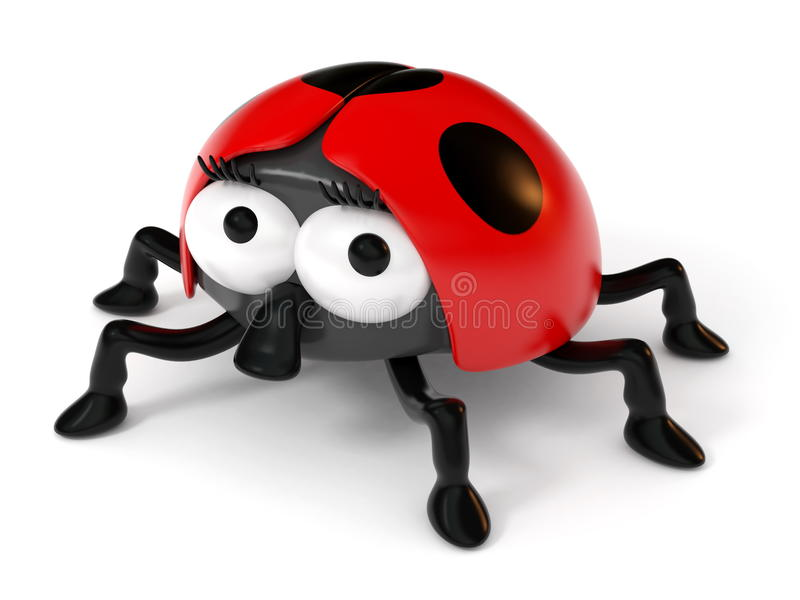 Download Cartoon Ladybug stock illustration. Image of insect, ladybird - 20064605