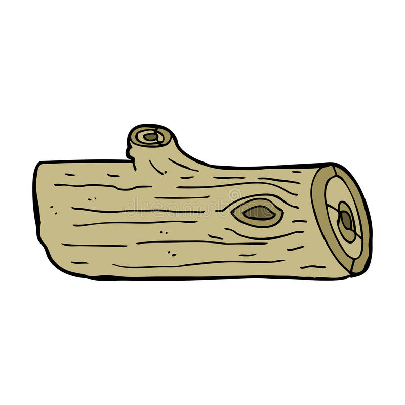 Timber Logs Clip Art ~ Cartoon log stock vector illustration of doodle clip