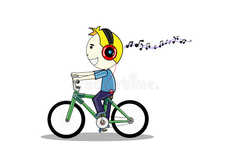 Download Cartoon man stock vector. Image of little, activity, ride - 29106893