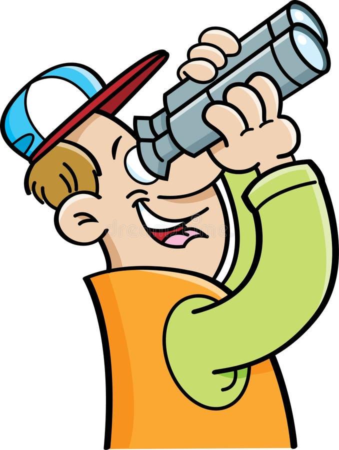 cartoon man looking through binoculars stock vector image 53104588 baseball cap clip art free baseball cap clipart png