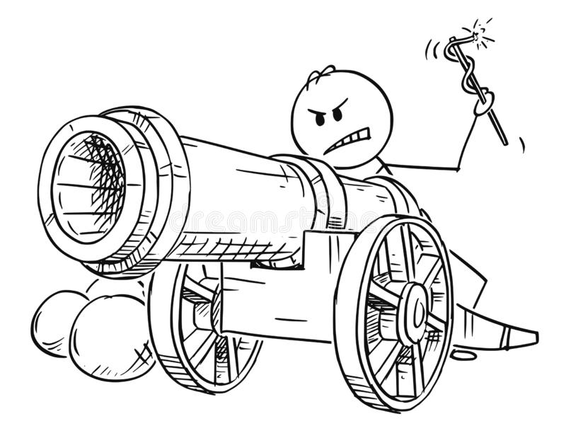 Cannon Fire Stock Illustrations – 1,692 Cannon Fire Stock