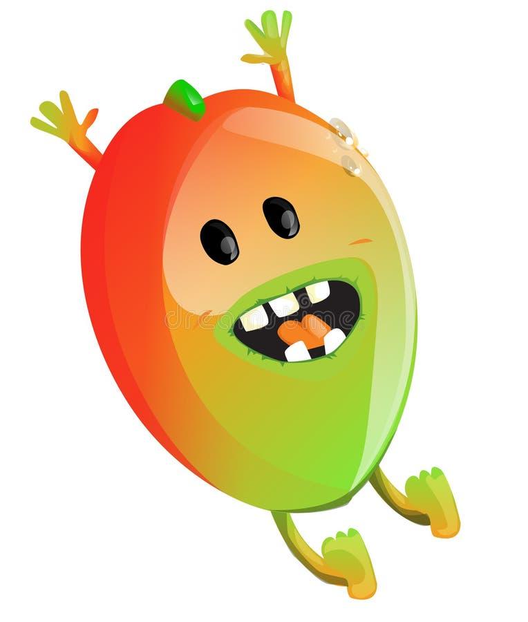 Cartoon Mango stock illustration