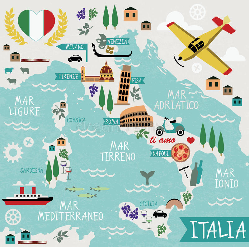 Cartoon map of italy stock vector illustration of italian 50727760 download cartoon map of italy stock vector illustration of italian 50727760 gumiabroncs Image collections