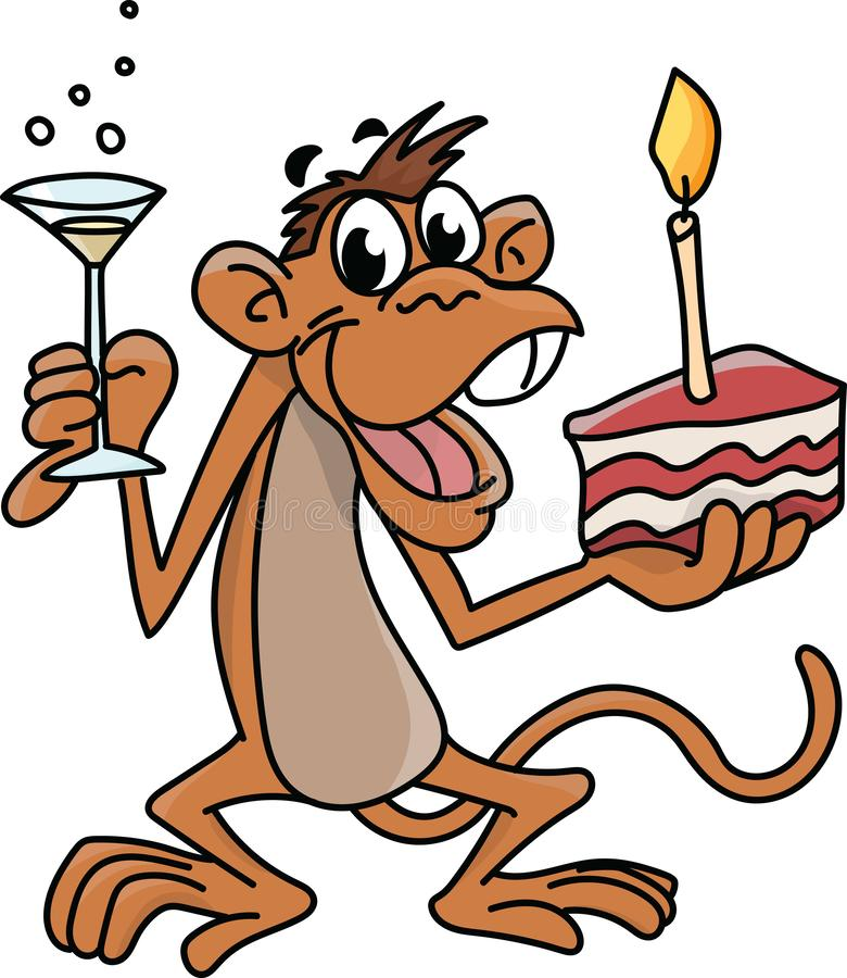 Fabulous Birthday Cake Champagne Stock Illustrations 3 150 Birthday Cake Funny Birthday Cards Online Hetedamsfinfo