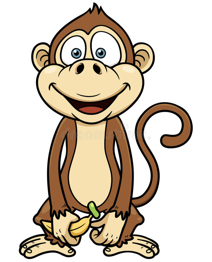 Wonderful Download Cartoon Monkey Stock Vector. Illustration Of Drawing   35658126