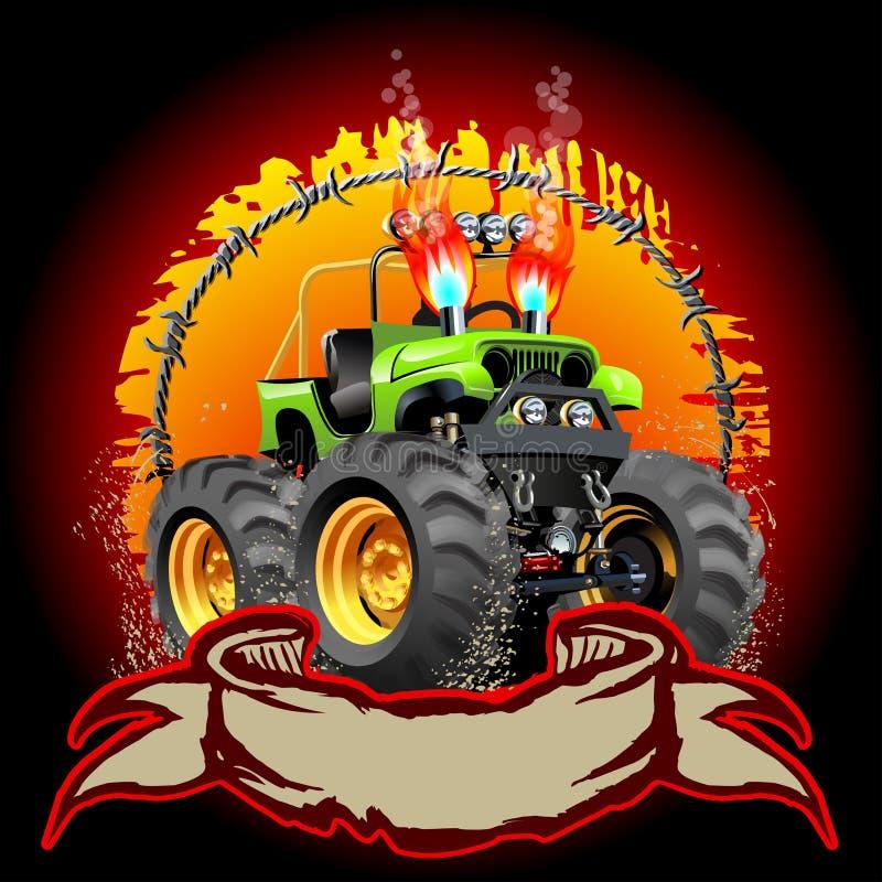 Free Cartoon Monster Truck Stock Photos - 34854133