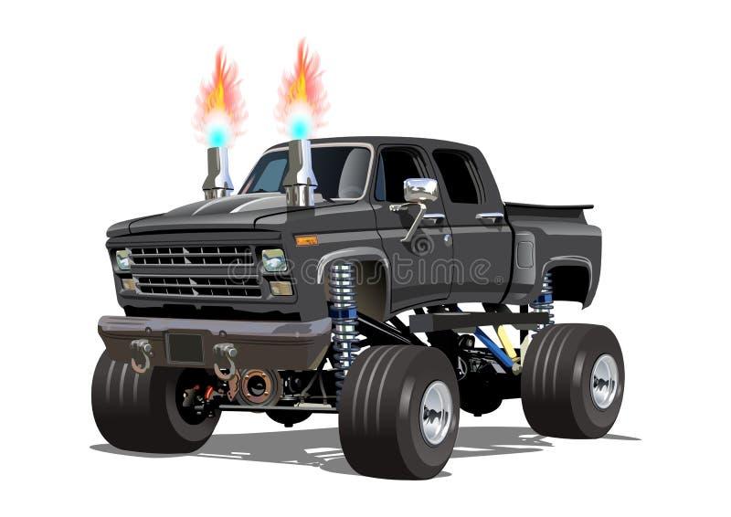 Cartoon Monster Truck vector illustration