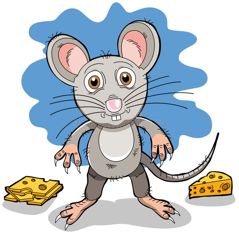Download A Cartoon Mouse Royalty Free Stock Photography - Image: 21612687