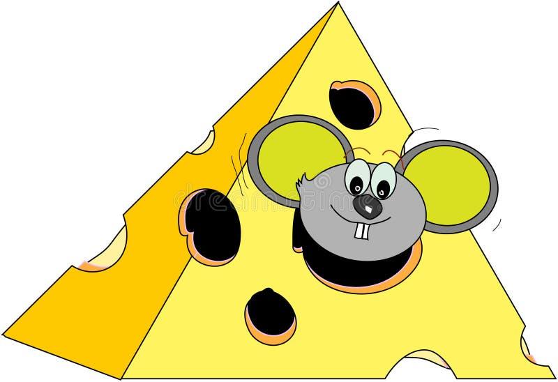 Cartoon mouse vector illustration