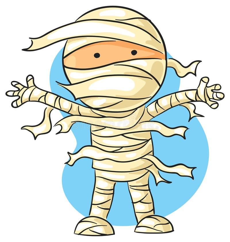 Cartoon mummy stock illustration