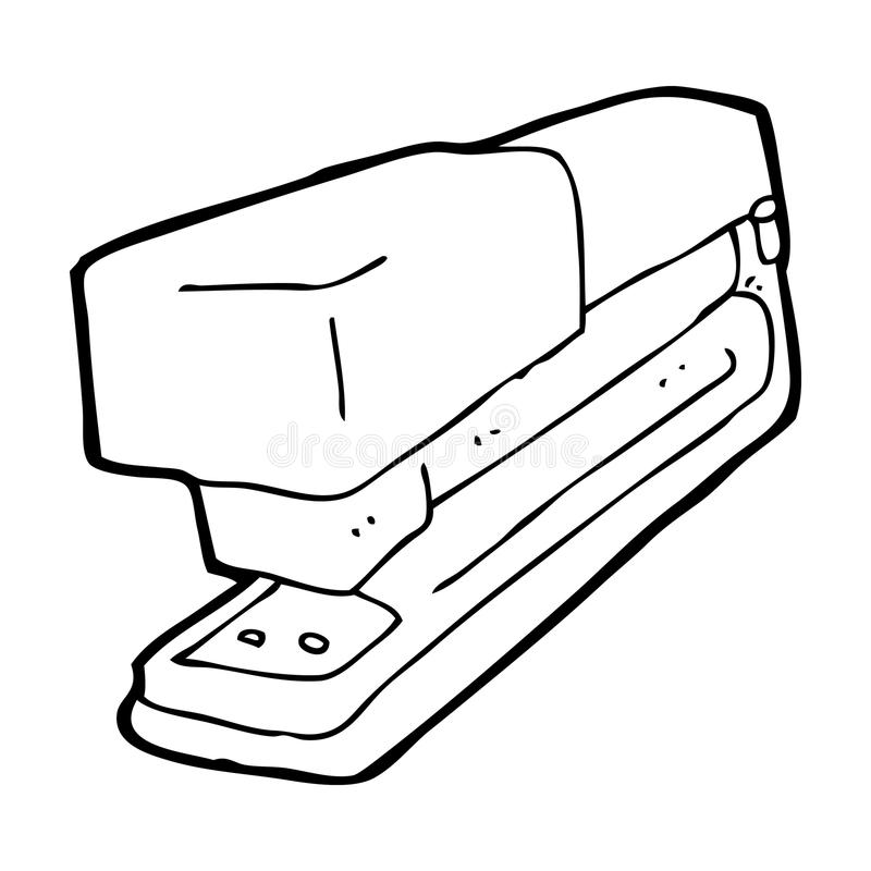 Free Cartoon Office Stapler Stock Photo - 37034240
