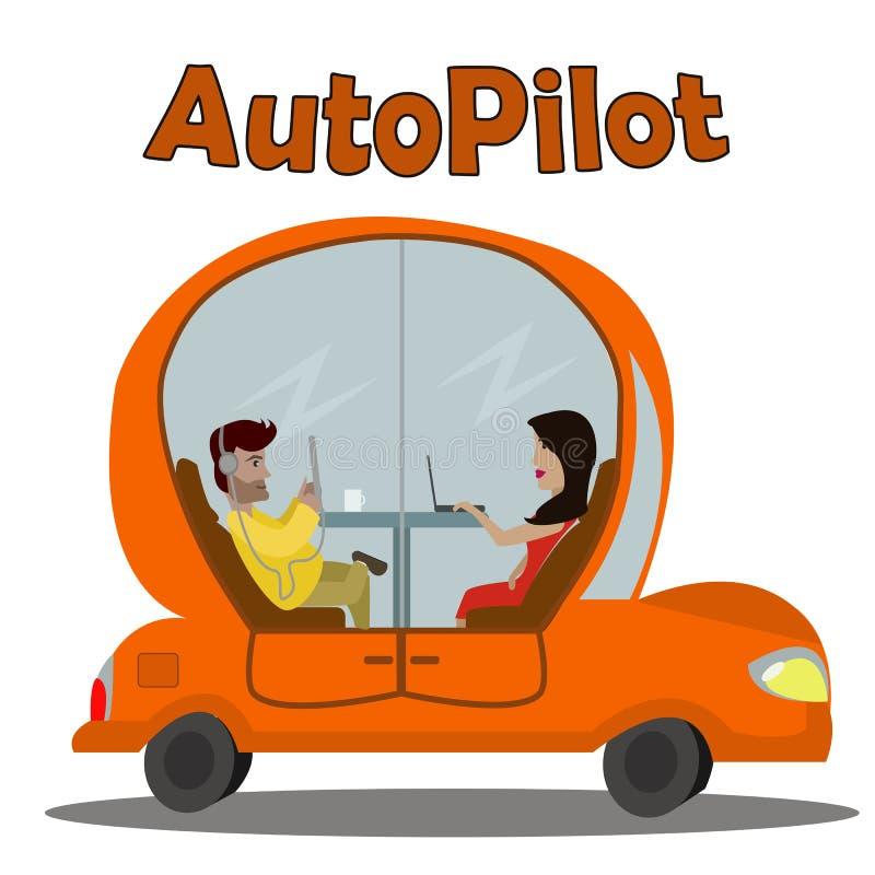 Speedy Car Cartoon Stock Illustrations