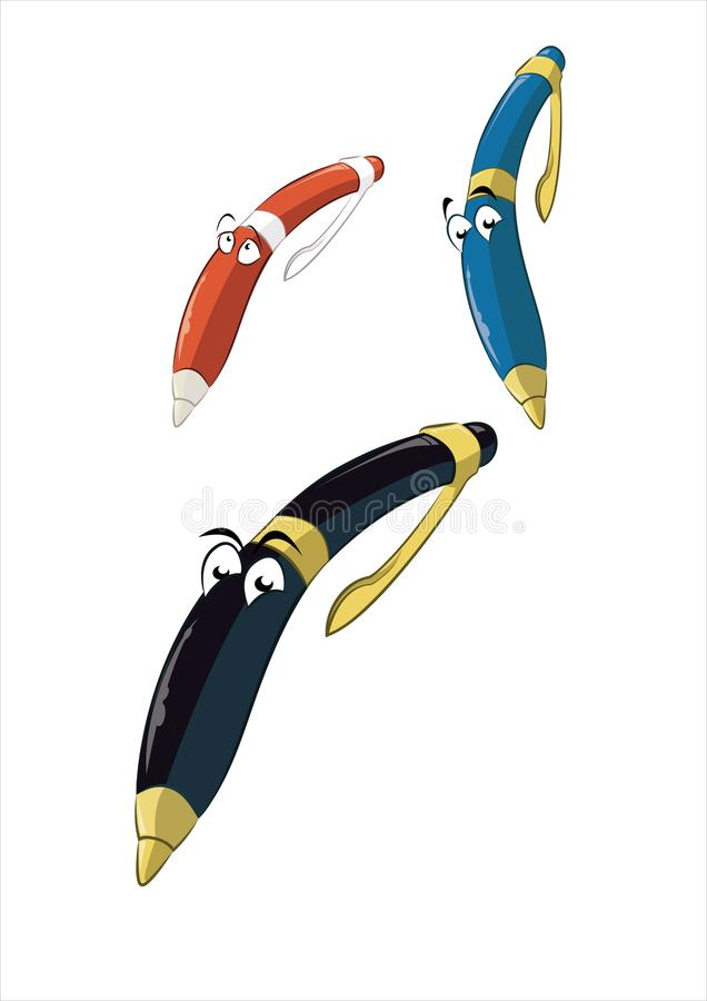 Download Cartoon Pen Stock Photography - Image: 28321482