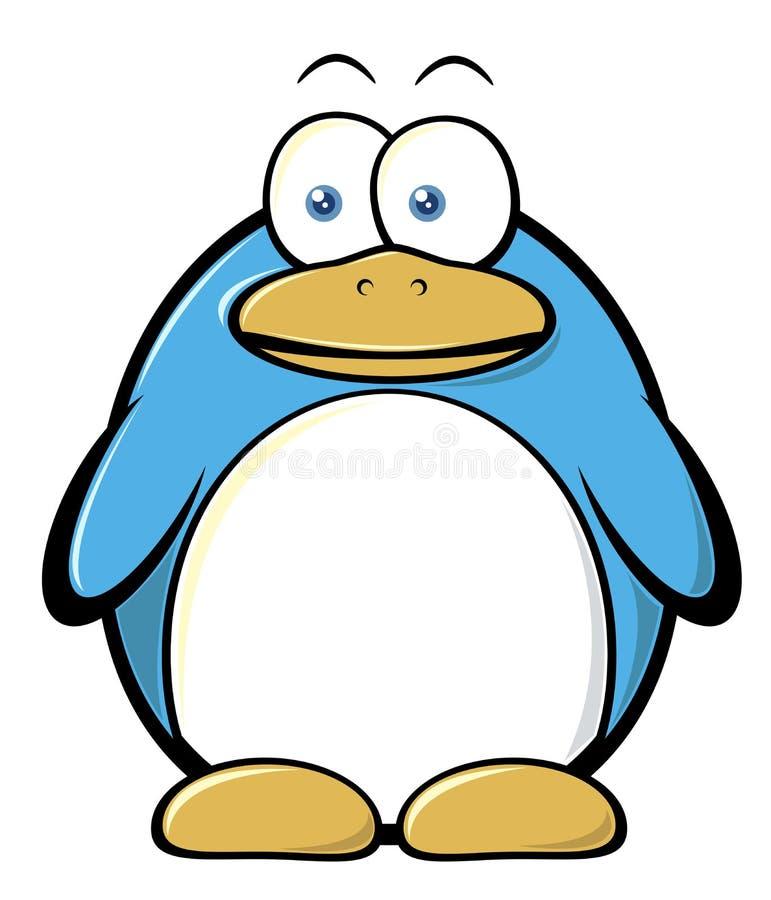 Cartoon penguin. Illustration of cartoon penguin on the white background,vector illustration vector illustration