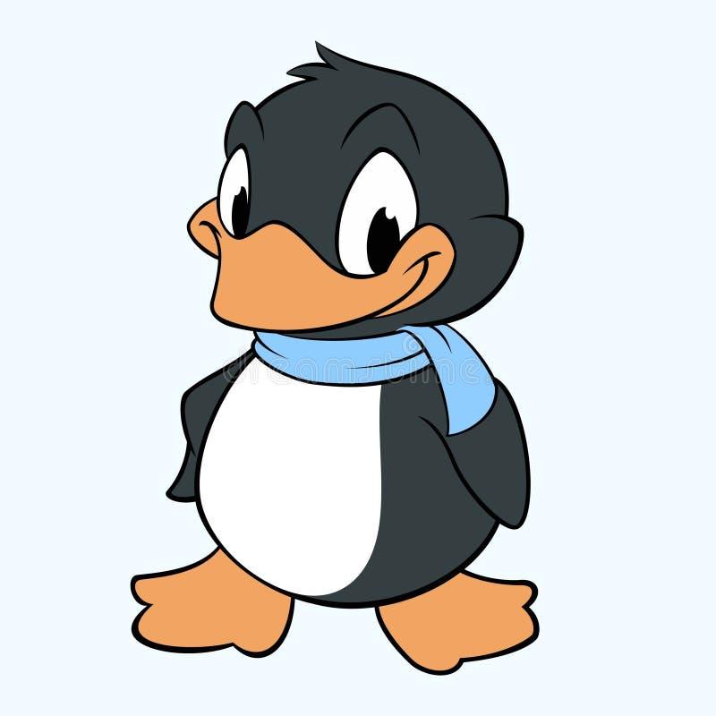 Cartoon Penguin royalty free illustration