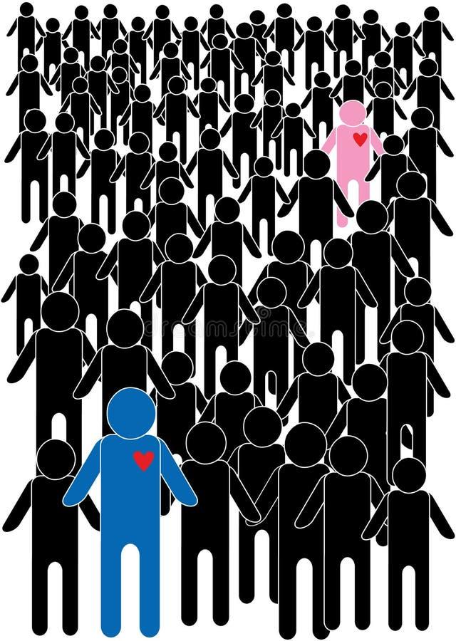 Cartoon people illustration vector illustration