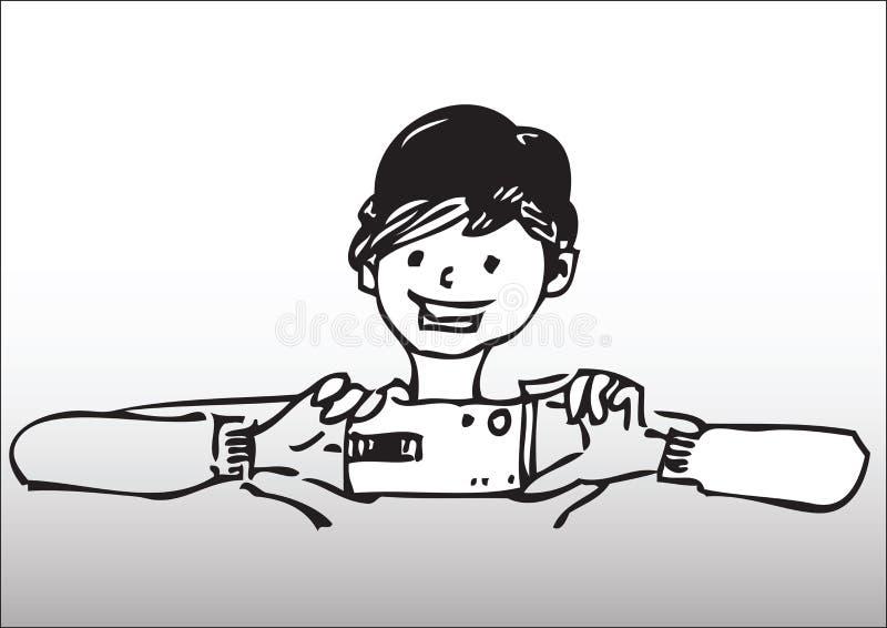 Download Cartoon photographer stock vector. Illustration of illustration - 8645184
