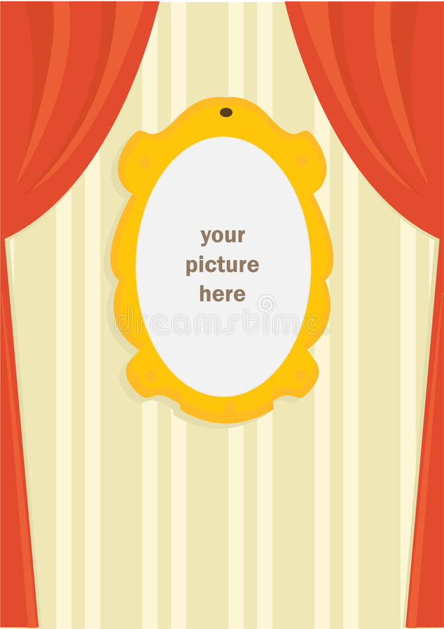 Download Cartoon Picture Frame Royalty Free Stock Photos - Image: 15621198