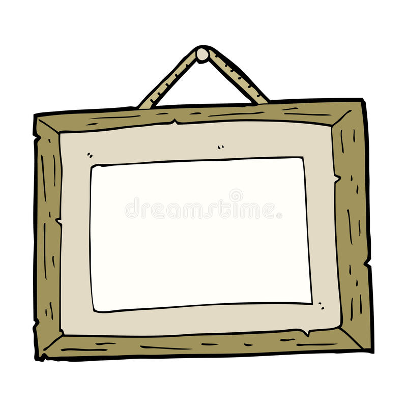 Cartoon picture frame stock vector. Illustration of character - 37015770