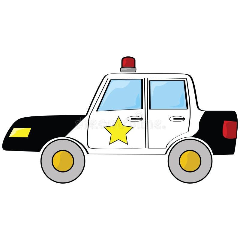 Cartoon Police Car Stock Photos
