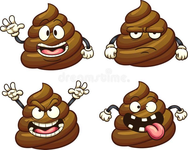 Cartoon Poop Stock Illustrations 2 177 Cartoon Poop