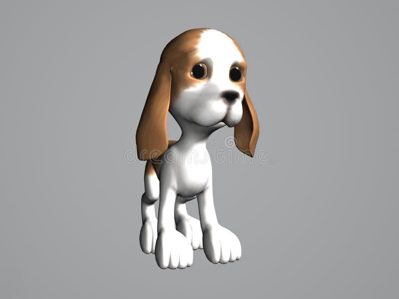 Cartoon Puppy royalty free stock photography