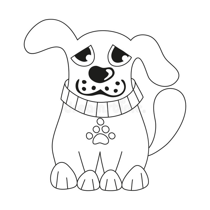 Cool Sad Black Adorable Dog - cartoon-puppy-coloring-book-page-children-vector-illustration-cute-dog-wearing-collar-pet-paw-tag-sad-doggy-69516344  Picture_765239  .jpg
