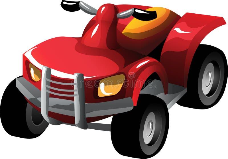 cartoon quad bike stock vector illustration of transport 18295141 rh dreamstime com