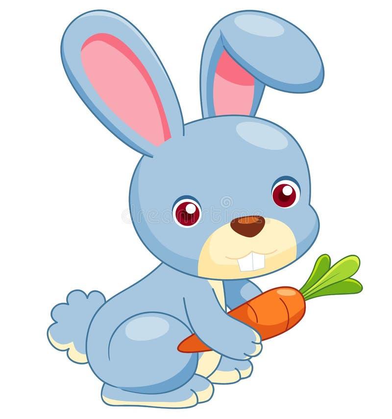 Cartoon rabbit. Illustration of cartoon rabbit