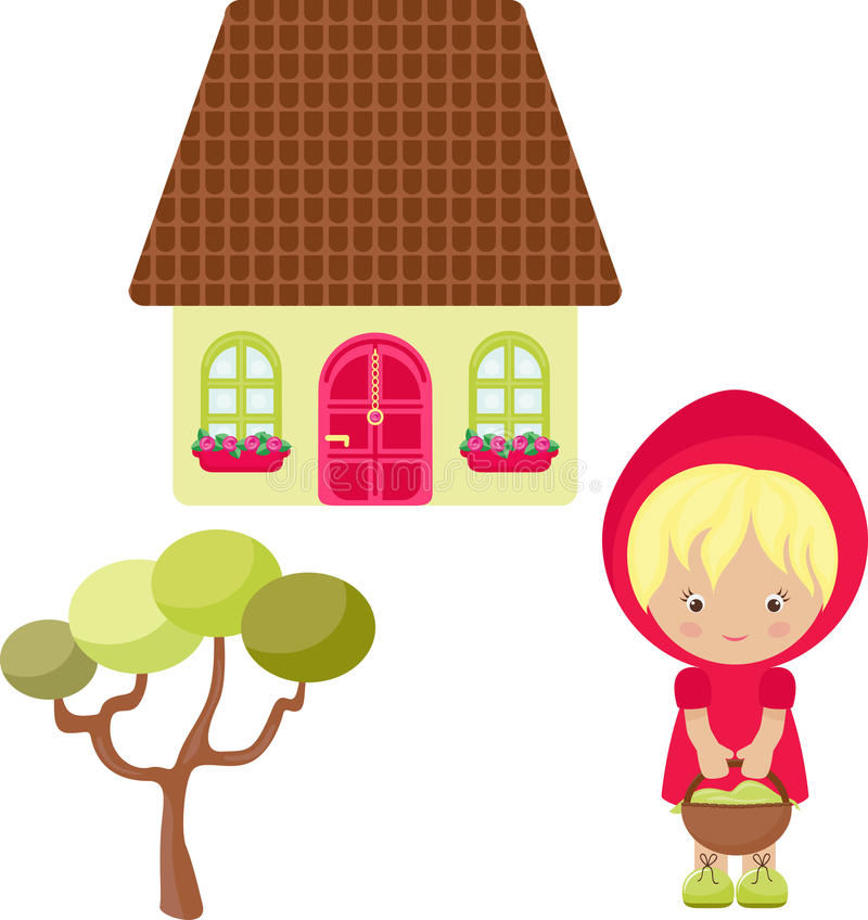 Download Cartoon Red Hood Royalty Free Stock Images - Image: 23625389