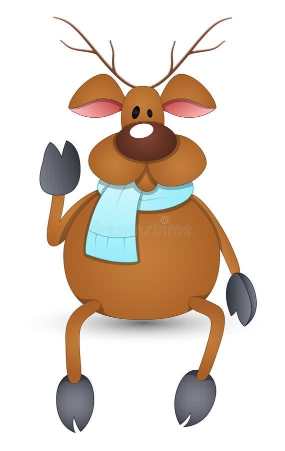 Download Cartoon Reindeer Vector Illustration Stock Illustration - Image: 30371500