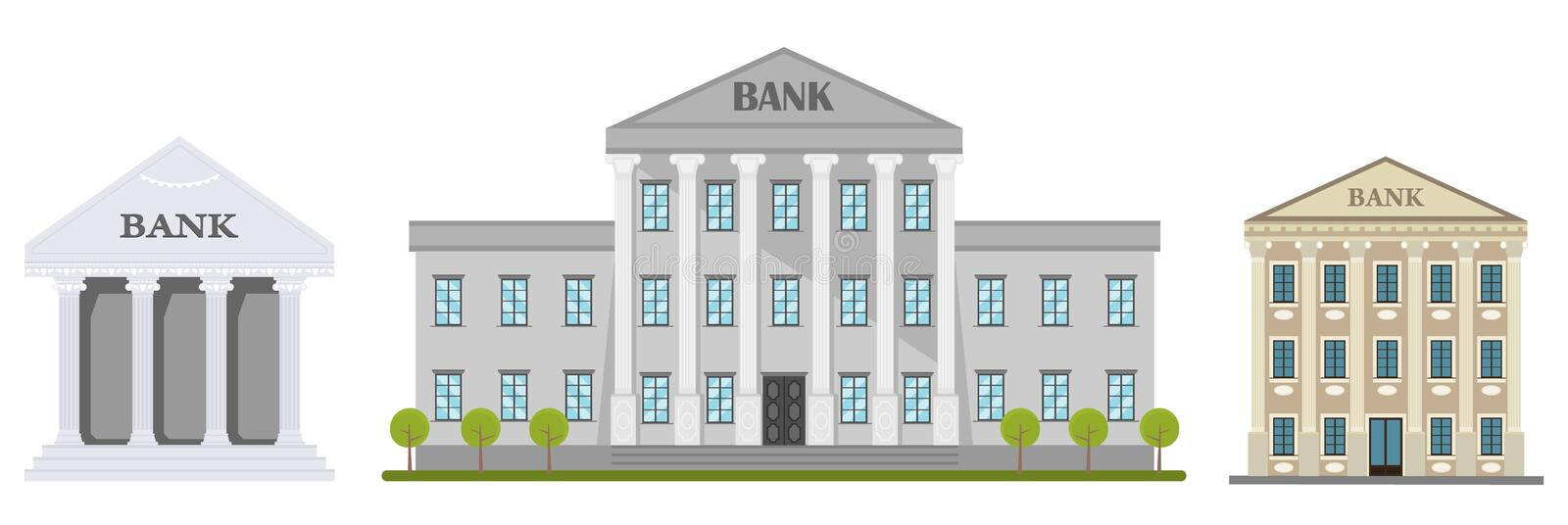Retro Bank Design.Retro Bank Stock Illustrations 9 992 Retro Bank Stock