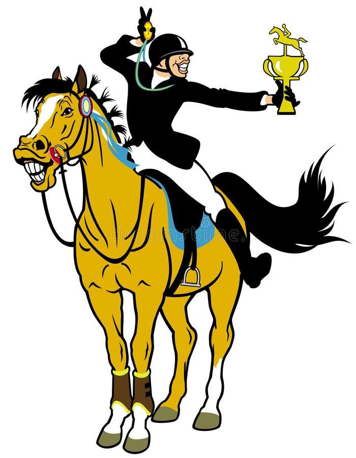Cartoon rider winner