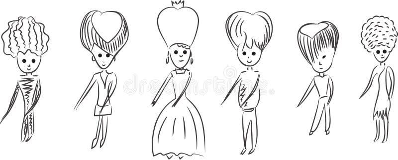 Download Cartoon Royal Family Dancing. Stock Vector - Image: 39742140