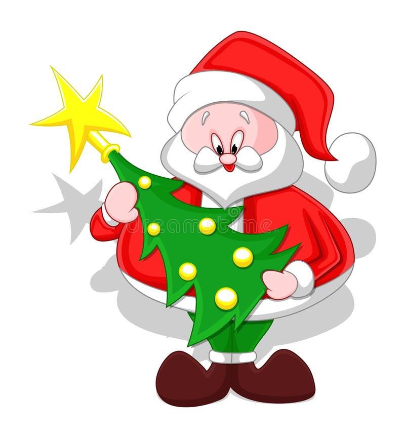 Cute cartoon christmas santa - photo#33