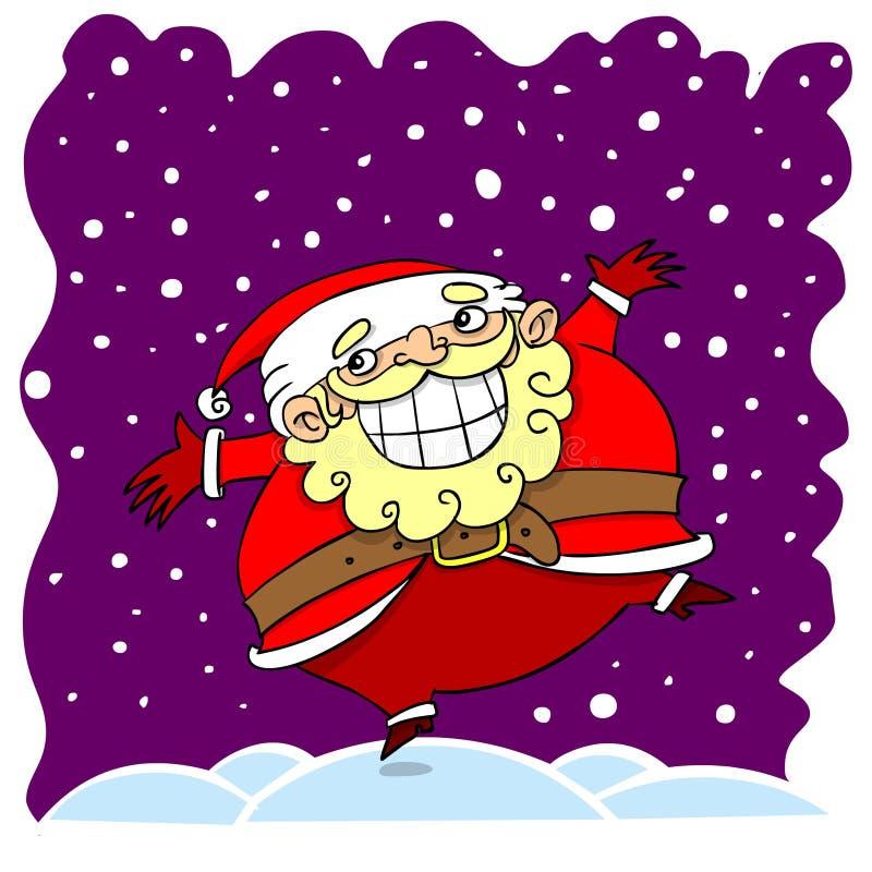 Download Cartoon santa clause stock illustration. Image of december - 35878151