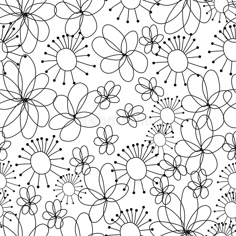 Cartoon seamless pattern