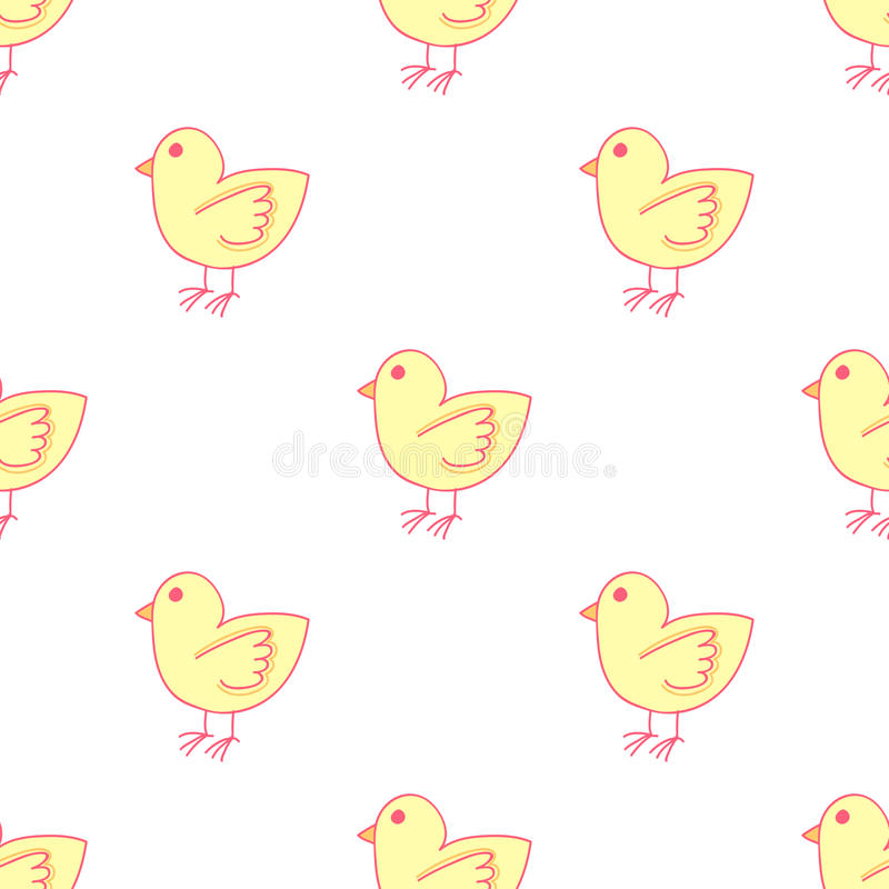 Download Cartoon Seamless Pattern With Chicken. Cock. Stock Illustration - Image: 83715629